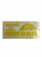 BOMBA DA AGUA Sticker S-Size  Lip Yellow