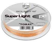 TORAY Salt Line Super Light PE [Golden Orange] 150m #0.4 (7lb)
