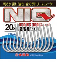 Gold Dragon Assist hook dedicated for Lure fishing NIQ20s Silver