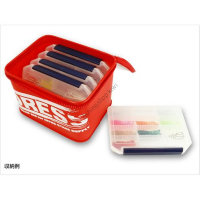 DRESS Tackle Clear Case M Red