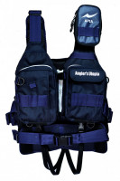 APIA ANGLER'S SUPPORT VEST Ver3 MARINE NAVY