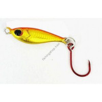 ALPHA TACKLE (Glory Fish) Petit Jig Fat Fish 5.0g  #Orange Gold