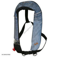Bluestorm Automatic inflatable life jacket (suspender type) BSJ-2520RS jeans (2017)
