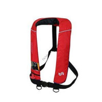Bluestorm Automatic inflatable life jacket (suspender type) BSJ-2520RS Red Blue