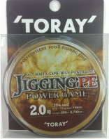 TORAY Jigging PE Power Game x4 [5color] 200m #4 (45lb)