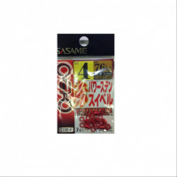 Sasame 200-F Red Power Stainless Swivel No.4