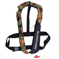 Bluestorm Automatic inflatable life jacket (suspender type) BSJ-2920RS CAMO
