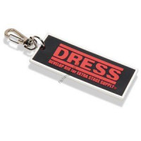 "DRESS Rubber Keychain W  ( Measure for App ""Bakucho Major"" )"