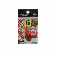 Sasame 200-F Red Power Stainless Swivel No.6