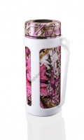 ELITE GRIPS Top&Go Stay Cool Stainless Bottle Cooler SC50-KP  Camo Pink