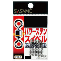 Sasame 210-A Power Stainless Swivel Black 1