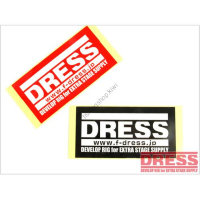 DRESS Sticker Square S  Red