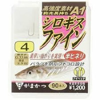 Gamakatsu A1 The Box Whiting Fine Brown 4