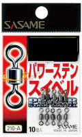 Sasame 210-A Power Stainless Swivel Black 7