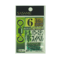 Sasame 210-J Green Power Stainless Swivel 6
