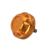 Alfa Tackle A co-UPA-007 AluMinium Handle Cap U Gold