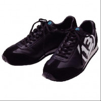 BREADEN OKAPPARI SPORTS SNEAKER 23cm BLACK X WHITE