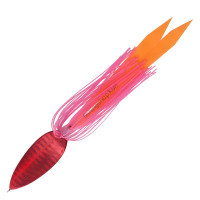 ANGLERS REPUBLIC Palms Brote 14g  #H-112 Full Red : Pink Rubber / Orange Skirt