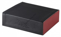 ZEAL OPTICS AS-035 Collection Glasses Case  Black Red
