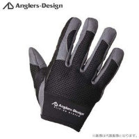 Anglers Design ADG-15 Slip on Offshore Gloves BlackLL