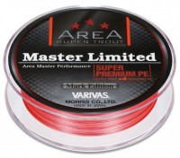 VARIVAS Super Trout Area Master Limited Super Premium PE Mark Edition [Sight Orange + Black] 75m #0.175 (5.5lb)