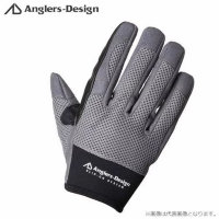 Anglers Design ADG-15 Slip on Offshore Gloves Gray L