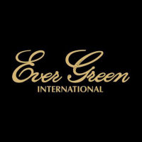 EVERGREEN Boat Decal M  Gold