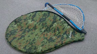 DAYSPROUT Rubber Landing Net Cover Green Digital Camo