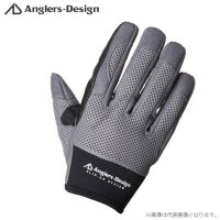 Anglers Design ADG-15 Slip on Offshore Gloves Gray M