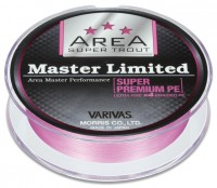VARIVAS Super Trout Area Master Limited Super Premium PE [Tournament Pink] 75m #0.2 (6.5lb)