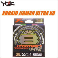 YGK X-BRAID Jigman Ultra X8HP300 m #1.5 30lb