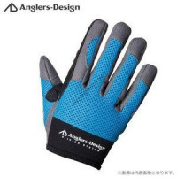 Anglers Design ADG-15 slip-on offshore glove blue LL