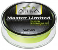 VARIVAS Super Trout Area Master Limited Super Premium PE [Neo Yellow] 75m #0.15 (4.5lb)
