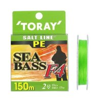 TORAY Salt Line PE SeaBass F4 [Light Green] 150m #2 (25lb)