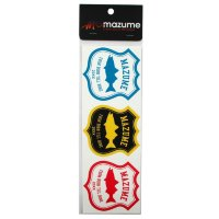 MAZUME MZAS-240 Sticker See Bass  3 Color Set