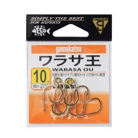 Gamakatsu Rose Amberjack King Gold 10