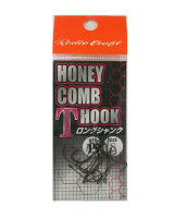 Rodio Craft HONEY COMB T HOOK Long Shank No.8(Fluorine)