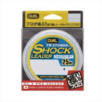 DUEL TB Carbon Shock Leader 25m 40Lb