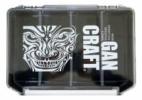 GAN CRAFT Face Logo Multi Box  #03 Clear / Gray