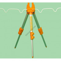 LAMSES LA-511 Aluminum Tripod Mini  Orange
