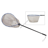 KAHARA Bass Tournament Rubber Landing Net