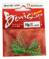 BASSDAY JAPAN CRIMSON SUGAR 10g #04 GREEN ZEBRA