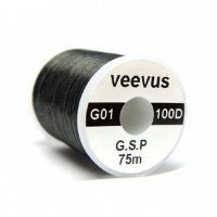 VEEVUS GSP Thread G01-100D(0.6) #11 Black