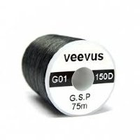 VEEVUS GSP Thread G01-150D(0.8) #11 Black