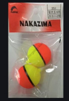 Nakazima No251 Fluorescent BEADS Float No.10(Header 2 pcs )