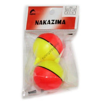 Nakazima No252 Fluorescent BEADS Float1 No.2 (Header 2 pcs )