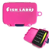 FISH LABO Mini Rotation Case Solid Pink