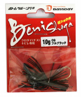 BASSDAY JAPAN CRIMSON SUGAR 10g #09 FULL BLACK