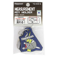 HAPYSON YQ-830-B Key Ring With Measurement Marker  Blue