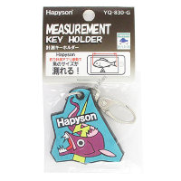 HAPYSON YQ-830-G Key Ring With Measurement Marker  Green
